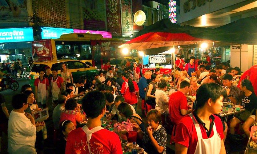 Street food dans Chinatown.