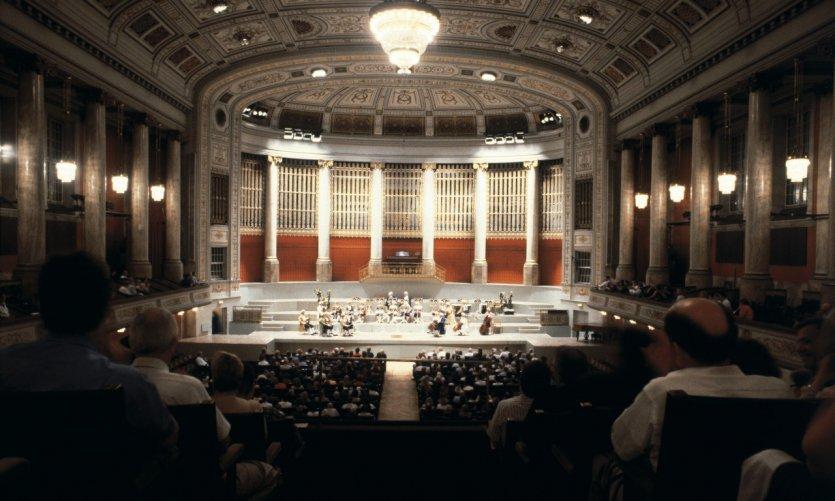 Spectacle au Konzerthaus.