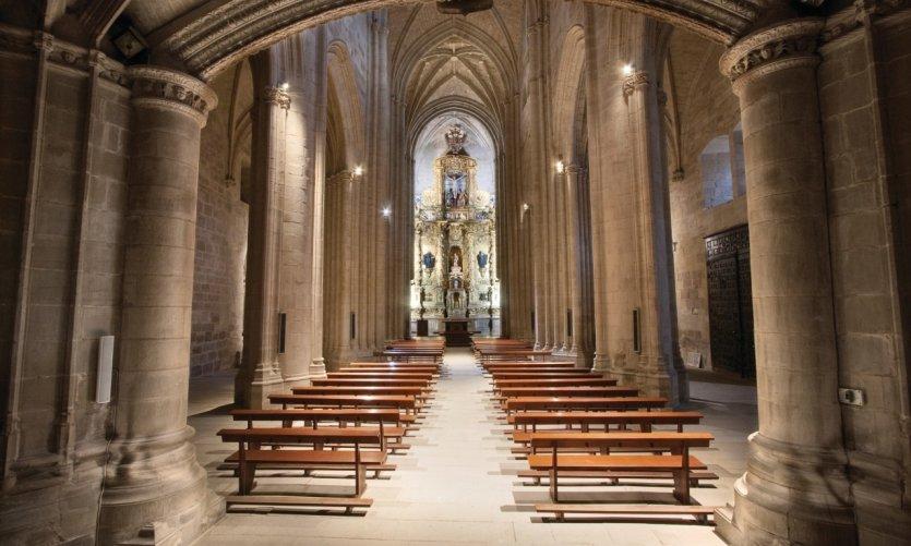 <p>Monastère Santa María la Real.</p>