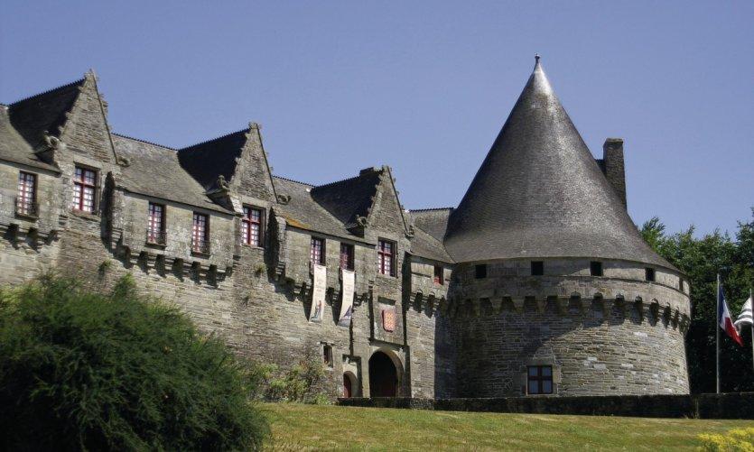 Le château des Rohan à Pontivy