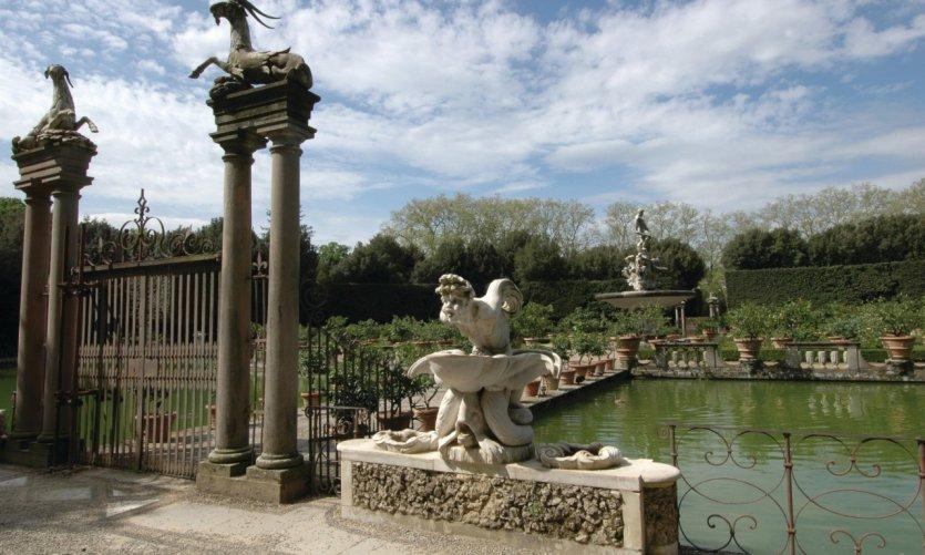 Vasco dell'Isola, jardin Boboli.