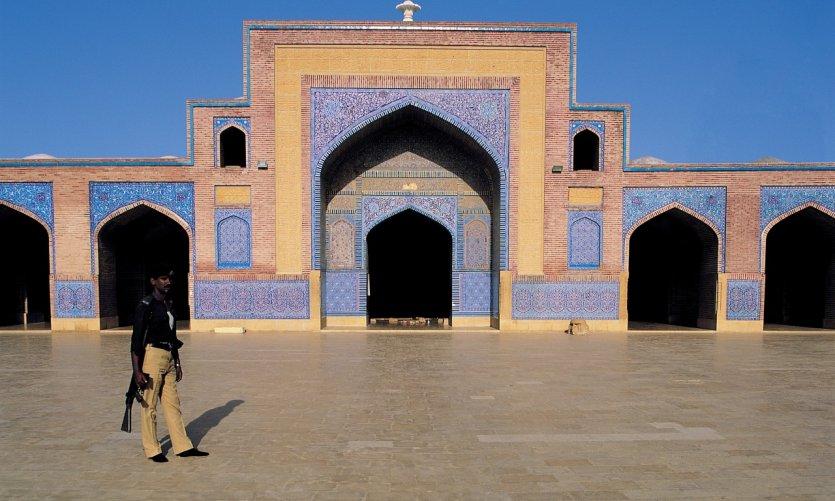 Mosquée Shah Jahan.
