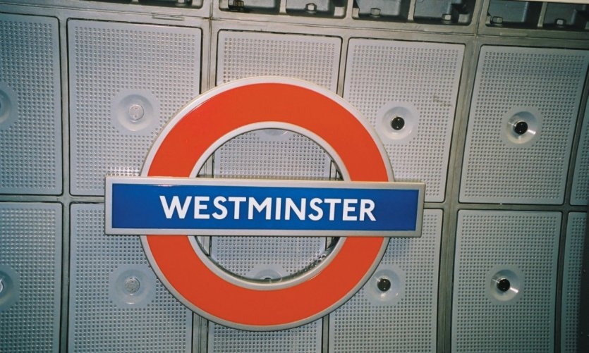 Westminster Tube Station.