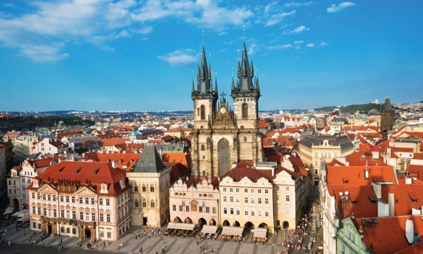 Vieille ville de Prague.