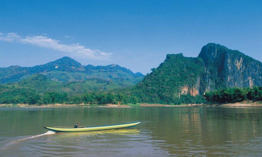 Le fleuve Mékong.