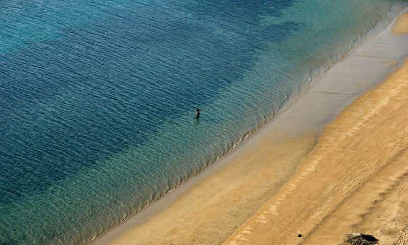 Playa Sables Blancs, cerca de Tadjourah.