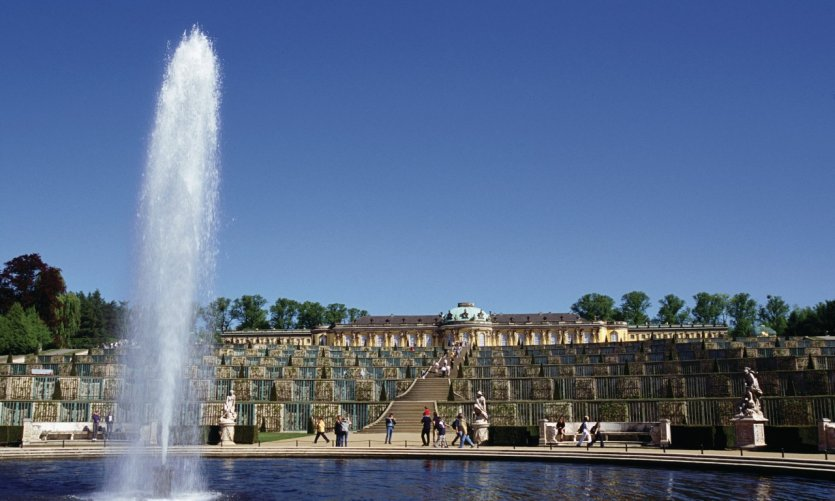 Château de Sanssouci à Potsdam
