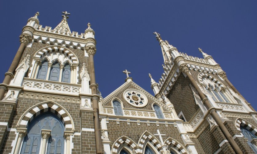 L'église du Mont-Mary.