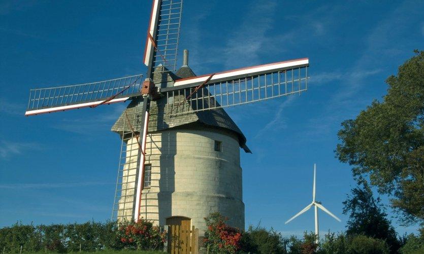Le Moulin à vent d'Eaucourt-sur-Somme