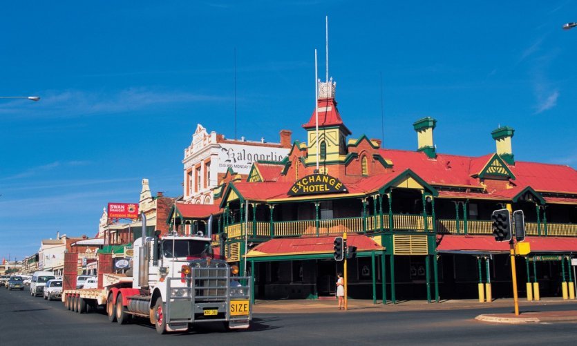 Kalgoorlie en Australie occidentale.