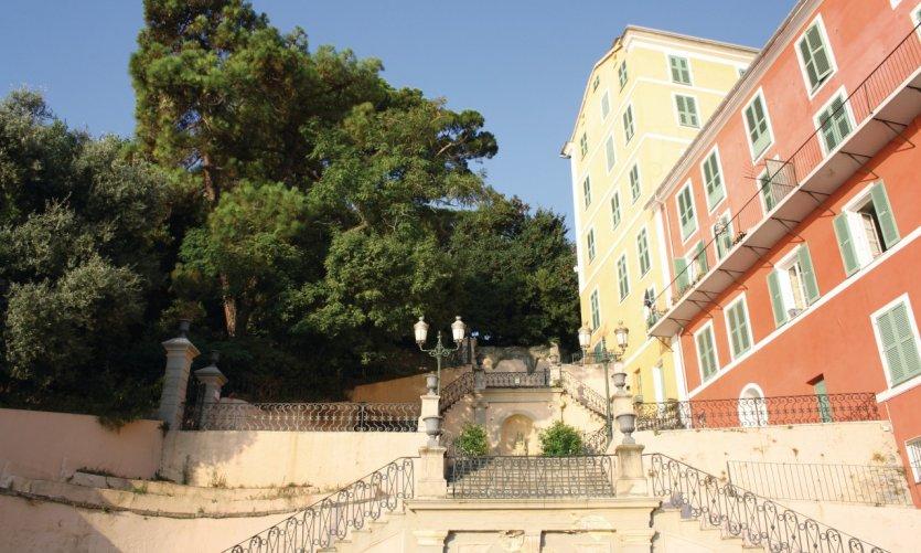 Escalier à Bastia