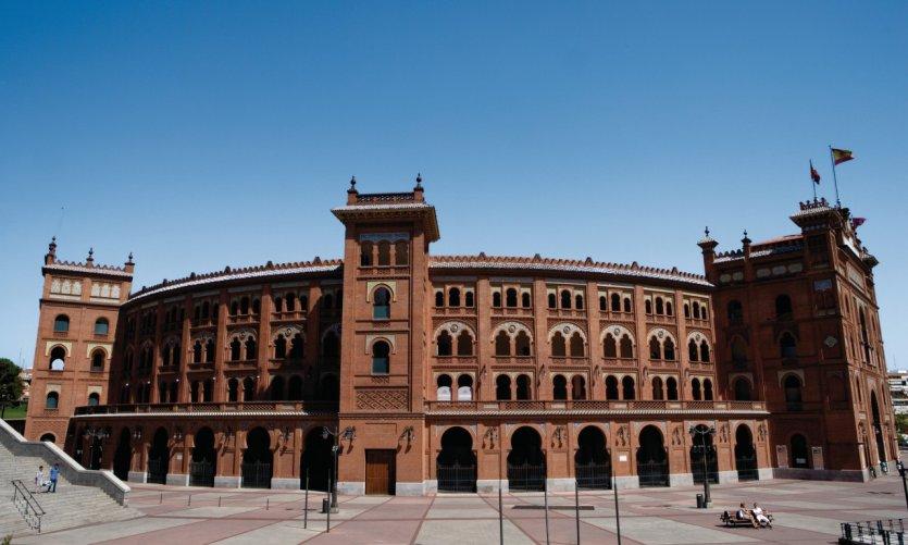 Les arènes de la Plaza de Toros de Las Ventas.