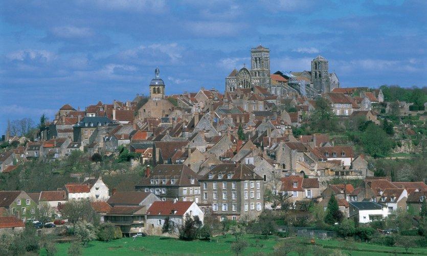 Vue de Vézelay.