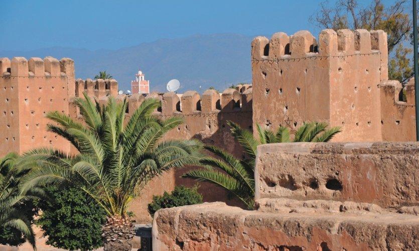 Les remparts de Taroudant.