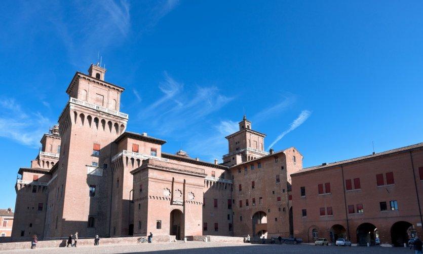 Le château d'Este, Ferrara.