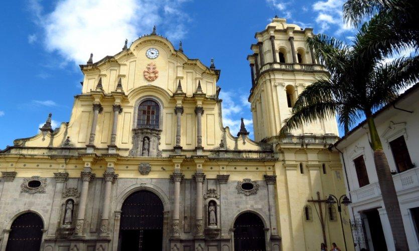 Iglesia Santo Domingop, Popayan