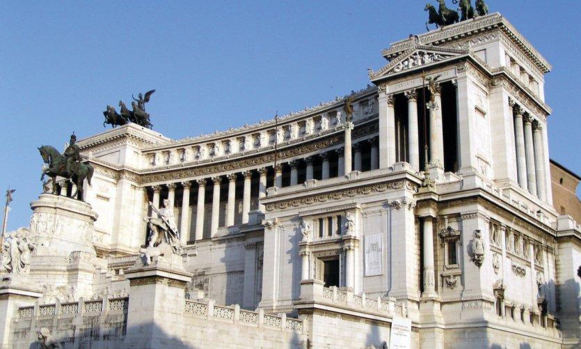Vittoriano, monument dédié à Victor-Emmanuel II.