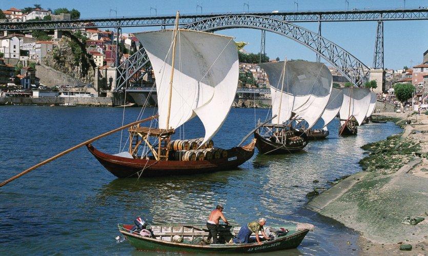Rabelos sur le Douro.