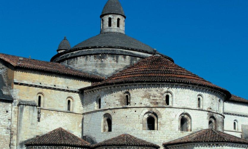 Chevet de l'ancienne abbatiale Sainte-Marie