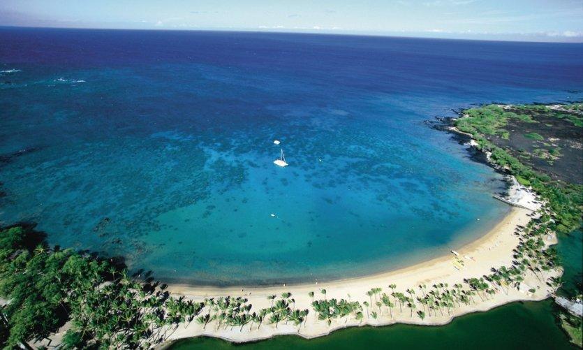 <p>Anaehoomalu Beach.</p>