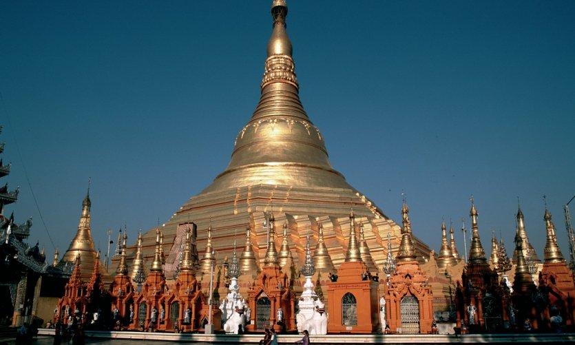 Pagode Shwedagon.