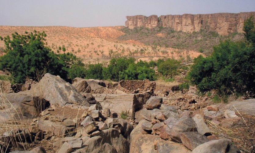 Vue de la plaine depuis le village de Nombori