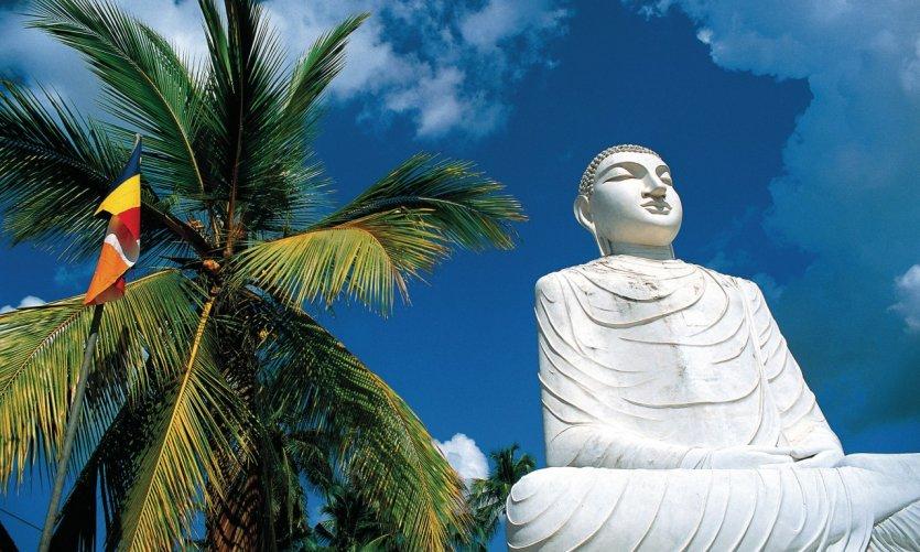 Monastère d'Anuradhapura.