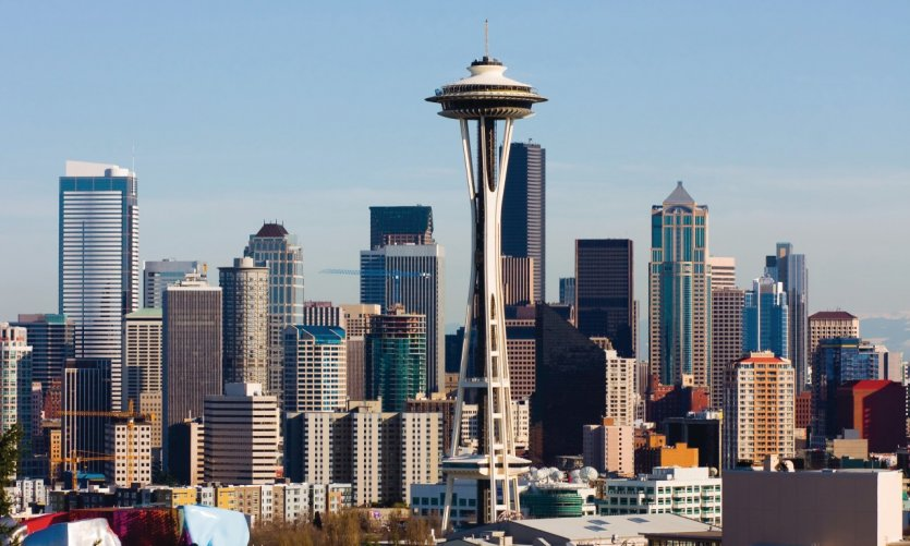 <p>Panorama en Seattle.</p>