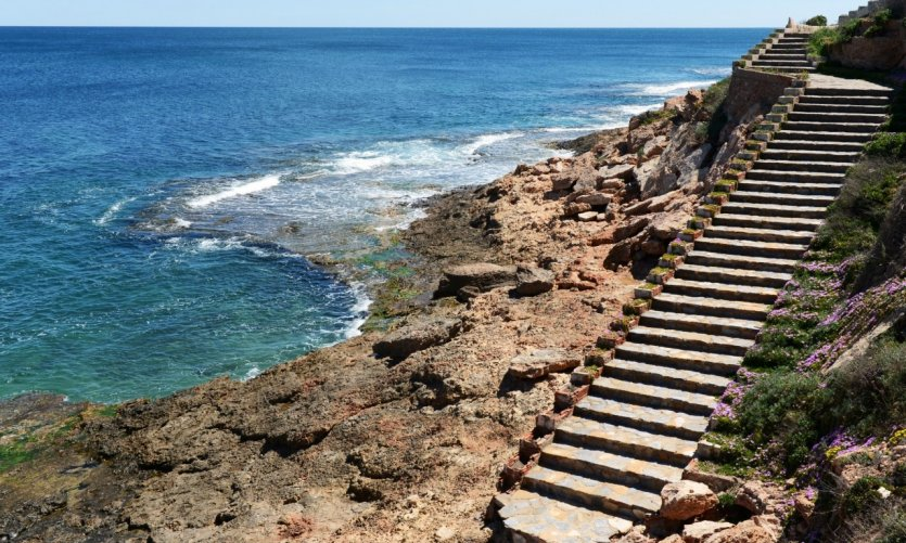 La côte d'Orihuela.