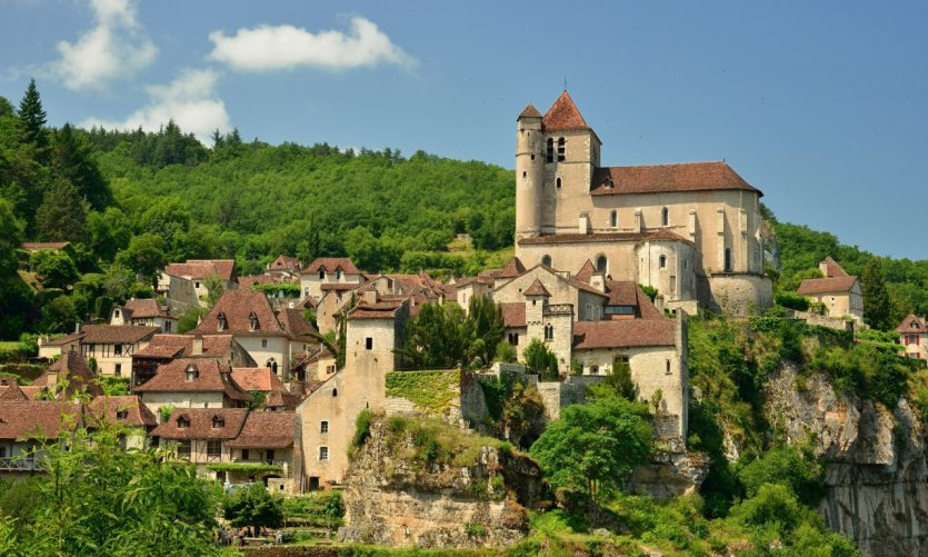 Saint-Cirq Lapopie.