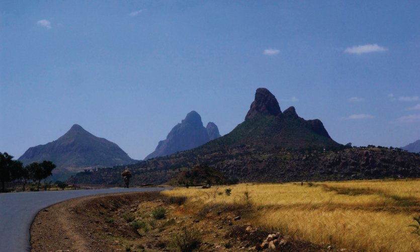 Sur les routes éthiopiennes, arrivée à Adwa.