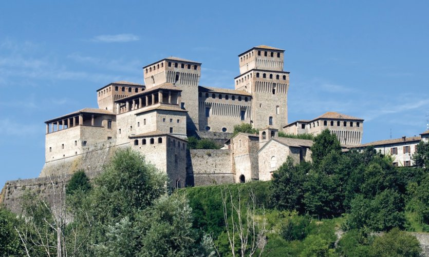 Château de Torrechiara.
