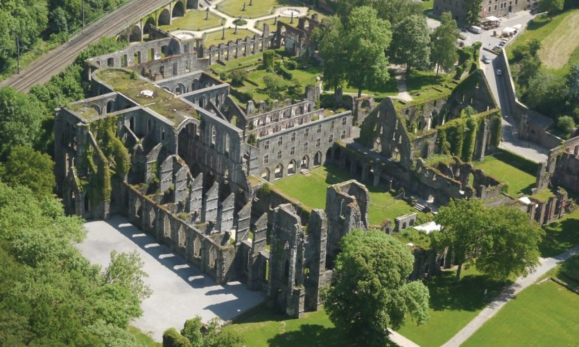 Abbaye de Villers-la-Ville.