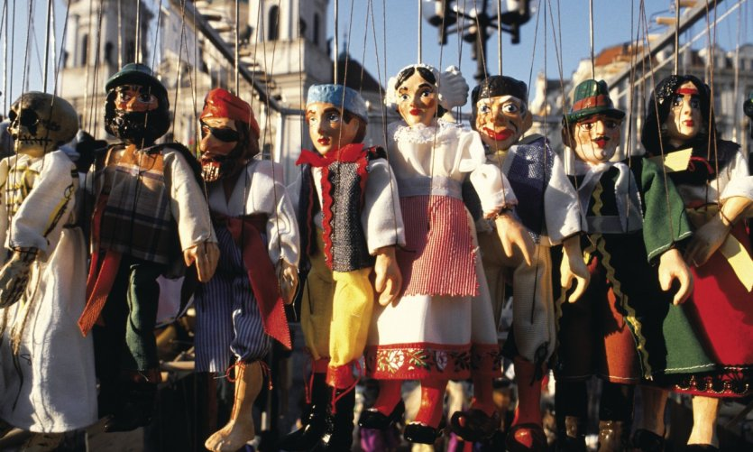 Marionnettes que les Tchèques chérissent tant!