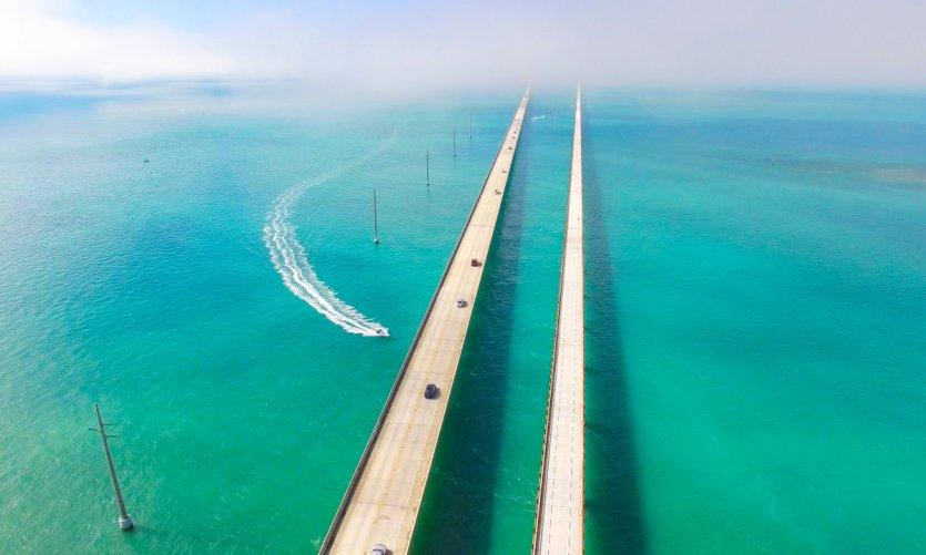 Seven Miles bridge.