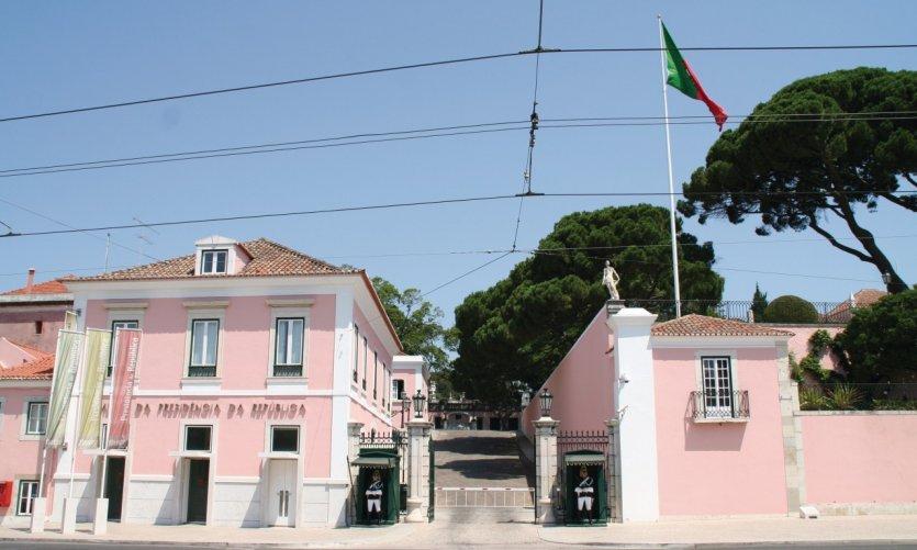 Palais de Belém, palais du Président de la République portugaise.