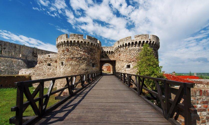 Entrée de la forteresse de Kalemegdan.