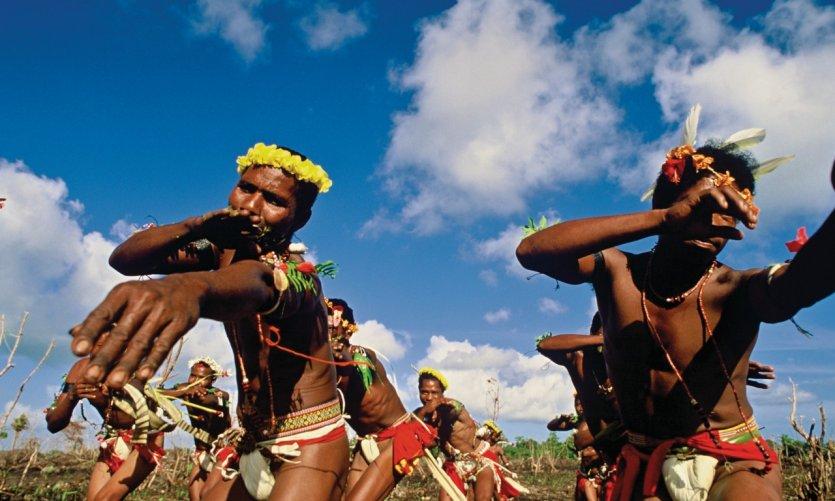 Danses dédiées à la récolte des ignames.