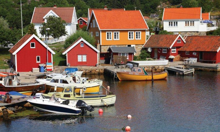 Le port de Kristiansand.