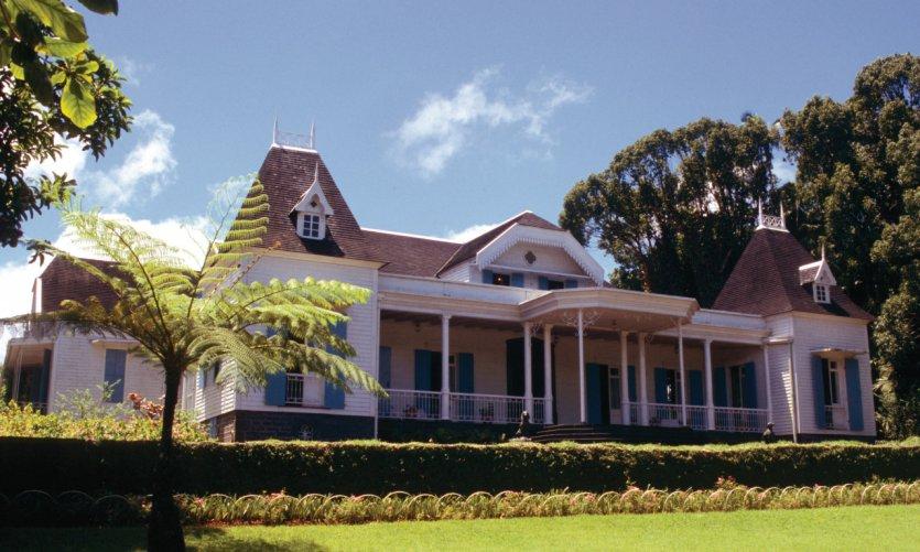 Casa colonial del Domaine des Aubineaux.