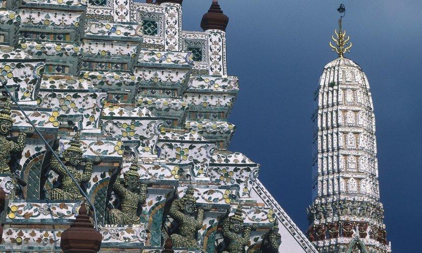 Wat Arun, détail du prang central.