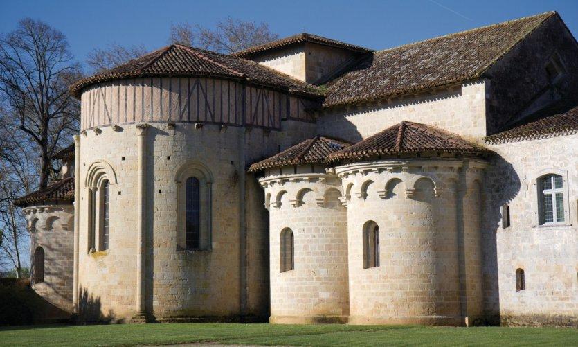 L'église de l'abbaye de Flaran