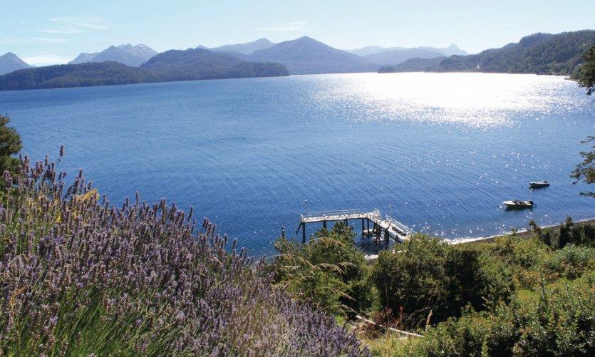 Le lac Nahuel Huapi à Villa la Angostura.