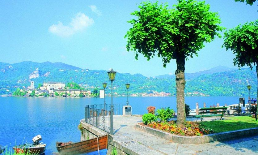 L'île San Giulio.