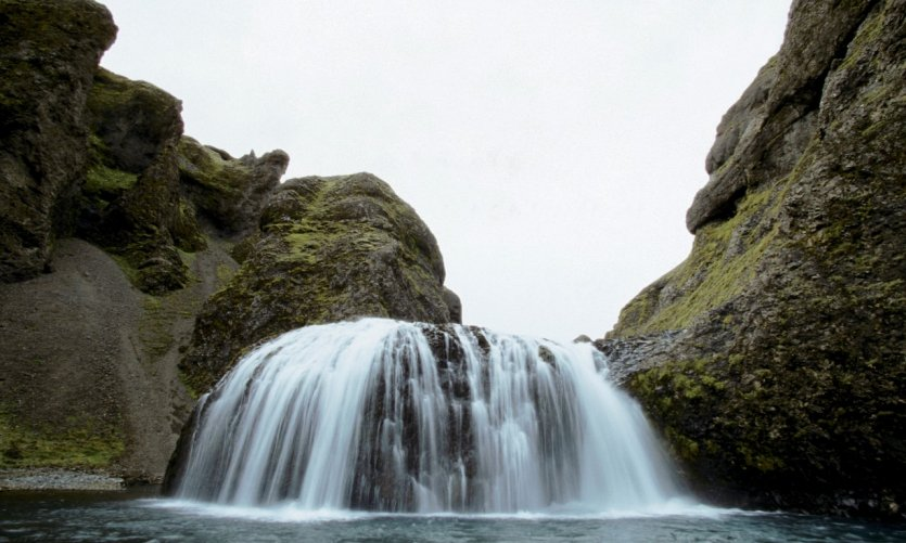 Les chutes de Saint-Jornarfoss.