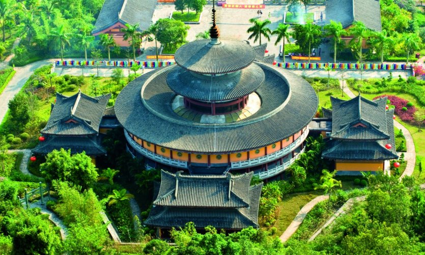 Parc taoïste Wenbifeng.