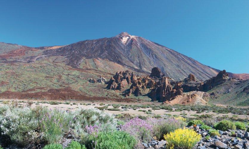 Parque nacional del Teide et pic du Teide.