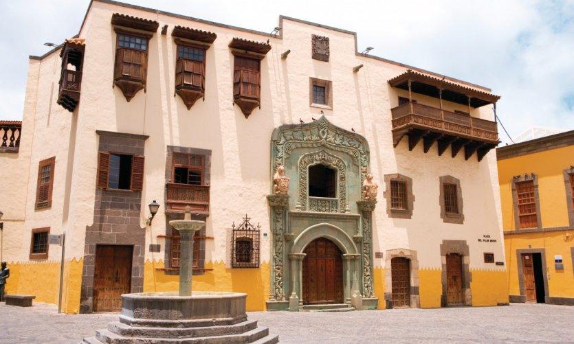 Casa de Colón (Christophe Colomb), dans le quartier de Vegueta.