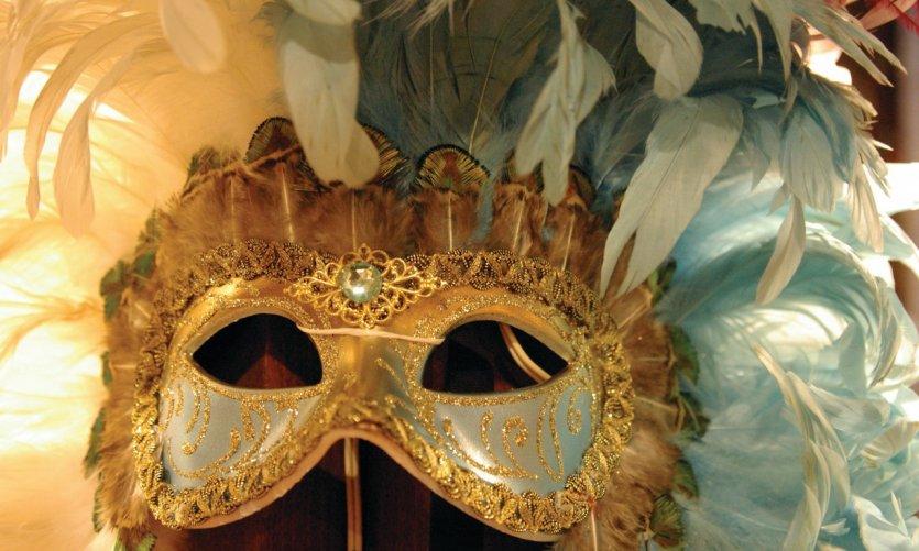 Masque de carnaval.