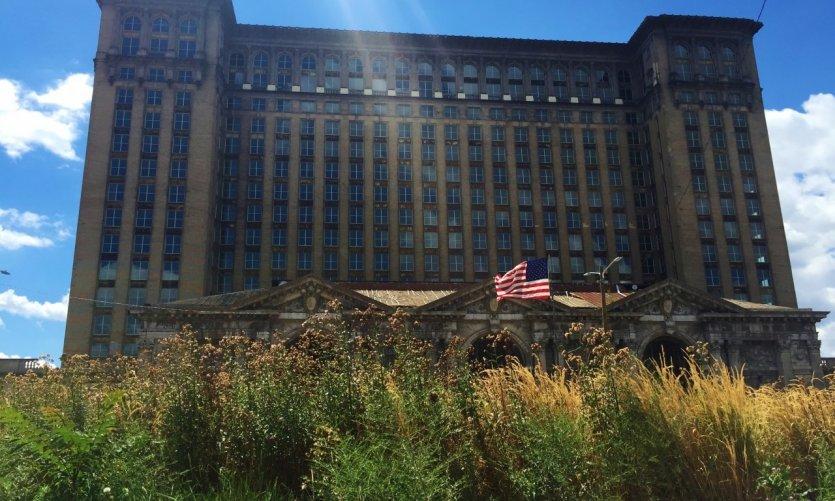 La Michigan Central Station, abandonnée depuis plusieurs décennies.